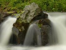 Particolare di scorrimento dell'acqua Fotografia Stock Libera da Diritti