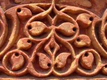 Particolare di scultura di pietra complicato Fotografie Stock