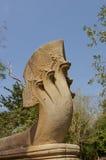 Particolare di scultura di pietra di khmer Immagini Stock