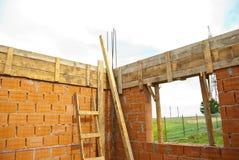 Particolare di stanza in costruzione Immagini Stock