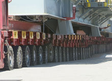 Particolare di strumentazione heavy-lift Fotografie Stock