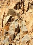 Particolare di superficie minerale della cava Immagine Stock