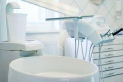 Particolare di un ambulatorio dentale immagini stock libere da diritti
