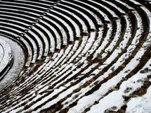 Particolare di un'arena romana a Lione Fotografie Stock