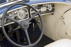 Dettaglio di un'automobile classica fotografie stock