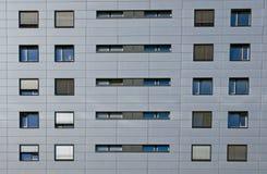 Particolare di un edificio per uffici Immagini Stock Libere da Diritti