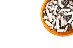 Portacenere e sigarette Immagini Stock