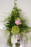 Particolare di una disposizione di fiore Fotografia Stock Libera da Diritti