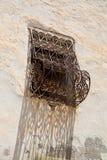 Particolare di una finestra tunisina Fotografia Stock Libera da Diritti