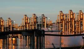 Particolare di una raffineria 11 Fotografia Stock Libera da Diritti