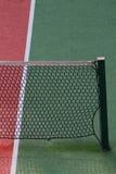 Particolare di una rete di tennis Fotografia Stock