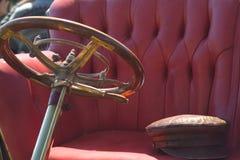 Particolare di vecchia automobile Fotografie Stock
