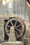 Particolare di vecchio laminatoio del grano da macinare - Marietta Georgia Immagini Stock Libere da Diritti