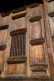 Particolare di Wat del teck - Chiang Mai, Tailandia Immagine Stock