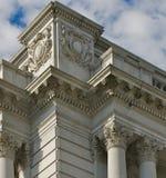 Particolare, edificio del Jefferson fotografie stock