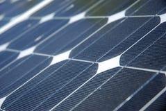 Particolare a energia solare Fotografia Stock