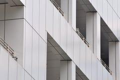 Particolare esterno di costruzione moderna Fotografia Stock