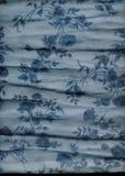 Particolare floreale della sciarpa Fotografia Stock