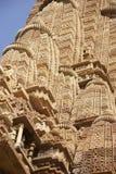 Particolare, guglie del tempiale di shikhara Fotografie Stock