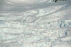 Particolare. Icefall del ghiacciaio, fotografia stock libera da diritti