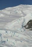 Particolare. Icefall del ghiacciaio, fotografia stock