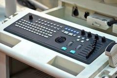Particolare medico della tastiera Fotografia Stock