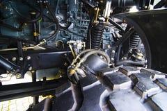 Particolare militare del camion Immagini Stock