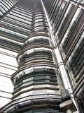 Particolare moderno dell'edificio alto Fotografie Stock Libere da Diritti