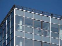 Particolare moderno dell'edificio per uffici immagine stock libera da diritti