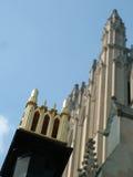 Particolare nazionale della cattedrale immagini stock libere da diritti