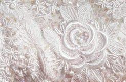 Particolare nuziale del corsetto Fotografia Stock