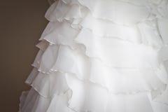 Particolare nuziale del corsetto Immagini Stock