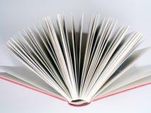Particolare rosso del libro fotografia stock