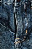 Particolare vicino dei jeans Fotografia Stock Libera da Diritti
