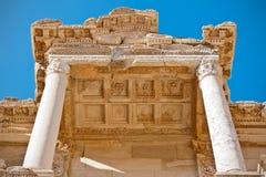 Particolari architettonici romani della facciata Fotografia Stock Libera da Diritti