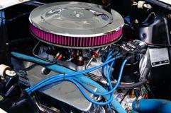 Particolari classici dell'ingresso di motore dell'automobile Fotografie Stock Libere da Diritti