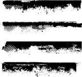 Particolari del bordo di Grunge illustrazione vettoriale
