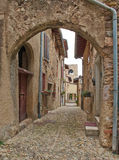 Particolari del castello di Padenghe Fotografie Stock Libere da Diritti