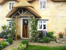 Particolari del cottage pittoresco fotografia stock