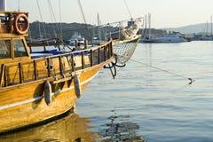 Particolari del crogiolo di vela Fotografie Stock