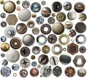 Particolari del metallo Fotografia Stock Libera da Diritti