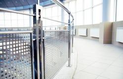 Particolari del metallo di un interiore Fotografia Stock Libera da Diritti