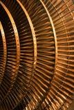 Particolari del rotore del generatore Fotografie Stock