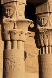 Particolari del tempiale di Philae Fotografia Stock Libera da Diritti