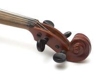 Particolari del violino Fotografia Stock Libera da Diritti
