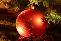 Particolari dell'albero di Natale fotografia stock