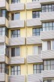 Particolari dell'edificio residenziale Immagini Stock