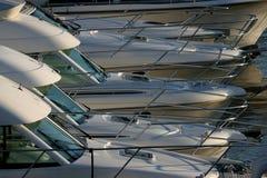 Particolari dell'yacht Fotografie Stock
