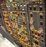 Particolari della cabina di guida Fotografie Stock Libere da Diritti