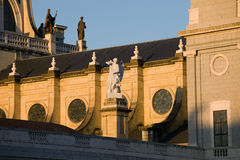 Particolari della cattedrale di Almudena a Madrid Fotografia Stock